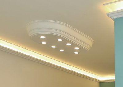 LED Stucklampe
