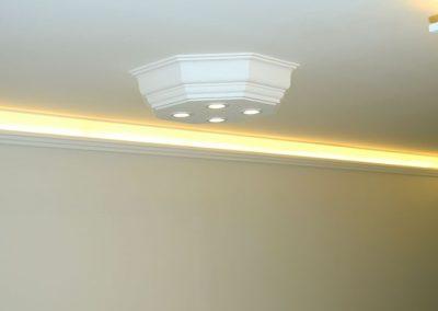 Stucklampe mit LED Spots