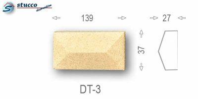 Beschichteter Zierstein Avitus DT-3
