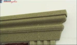 Fassadenprofil mit angesetztem Schließelement