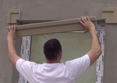 Fassadenprofil-zwischen-Eckleisten-positionieren