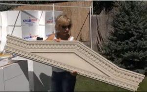 Einbaufertiger Fenstergiebel