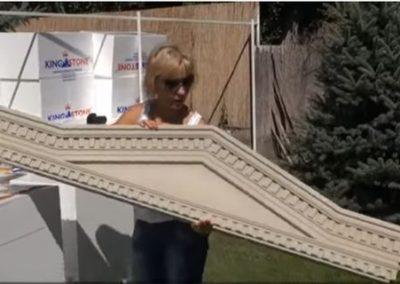 Fenstergiebel einbauen