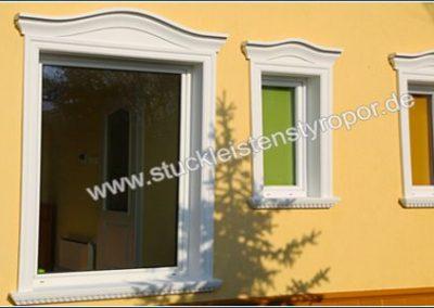 Fensterlaibungsprofile, Fenstergiebel und Aussenfensterbänke