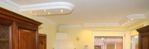 Stuckleisten mit LEDs