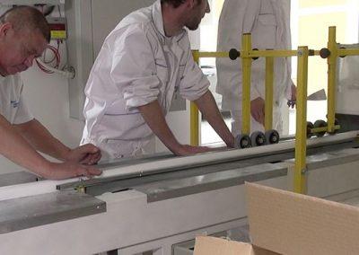 Produktion von Fassadenprofilen
