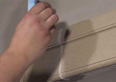 Uberschussige-Beschichtungsmasse-entfernen
