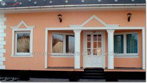 Fassadenprofile und Säulenverkleidung