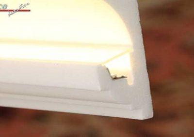 Staubschutz indirekte Beleuchtung