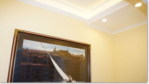 Sternenhimmel Decke Kleben : Stuckleisten aus Styropor zur Innenraumgestaltung  Stuckleisten