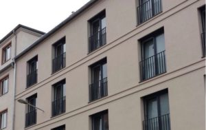 moderner Fassaden Stuck
