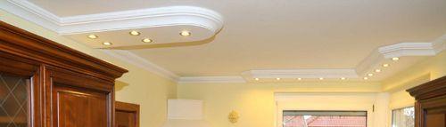 Stuckleisten Styropor für direkte LED Beleuchtung