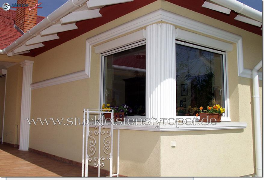 Gesims als Fassadendekoration