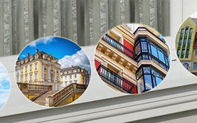 Kleine Gesimskunde – Fassadengestaltung mit Dachgesims, Giebelgesims und Gurtgesims