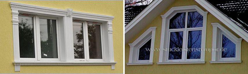 Fassadenprofile und zierleisten f r besondere fenster for Hersteller fenster