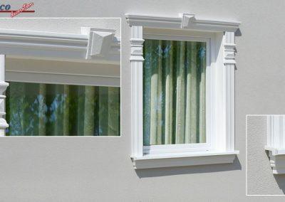 Aussenstuck Fassadenelementen