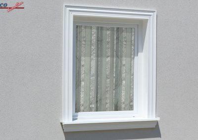 beschichteten Fassadenprofil