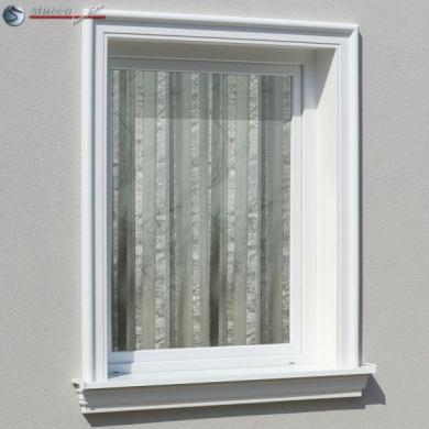 Baustoffe & Holz Fensterfasche Lisene Fassadenprofil Fensterbank