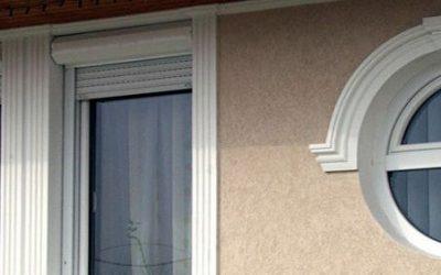 Styropor Stuck für Bogenfenster und Rundfenster