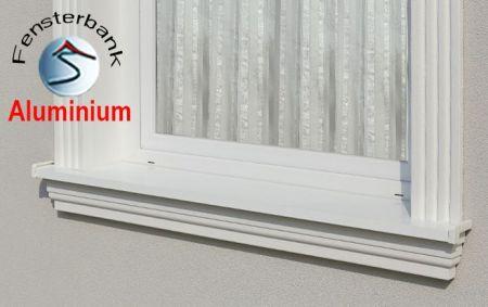 Komplette Fensterbank mit Beschichtung