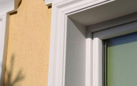 Fassadenprofile zur Leibungsverkleidung