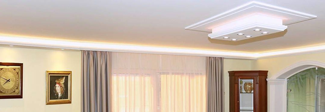 4 Lösungen um Styropor Stuckleisten mit LED Beleuchtung zu kombinieren