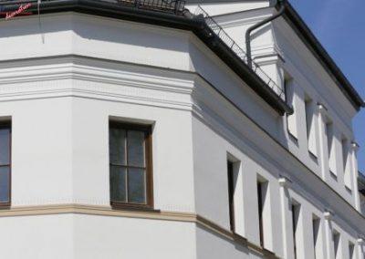Beschichtete-Stuckprofile-Fassade