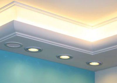 led-spots-in-styropor-einbauen
