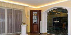 Stuckleisten für indirekte Beleuchtung