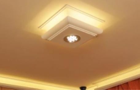 Stuckleisten mit LED Beleuchtung