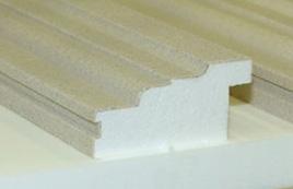 Beschichtete Fassadenprofile